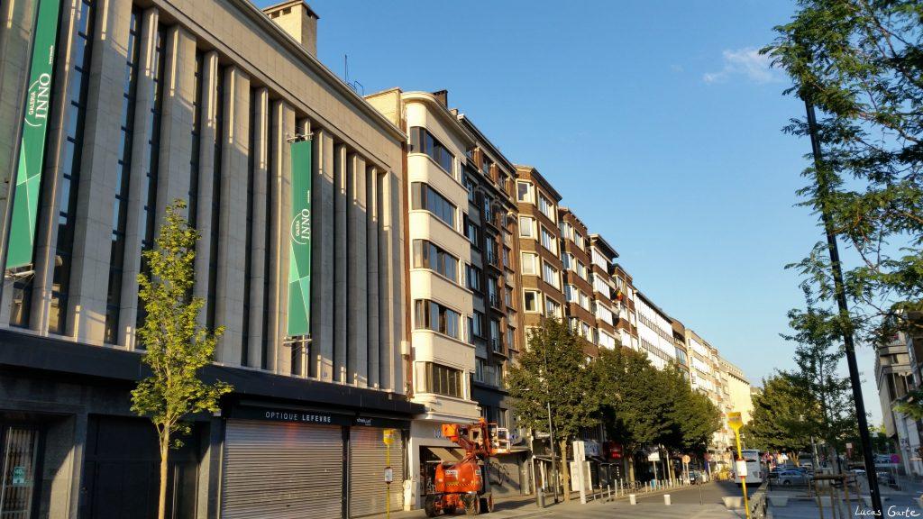 Charleroi, Galeria Kaufhof auf belgisch