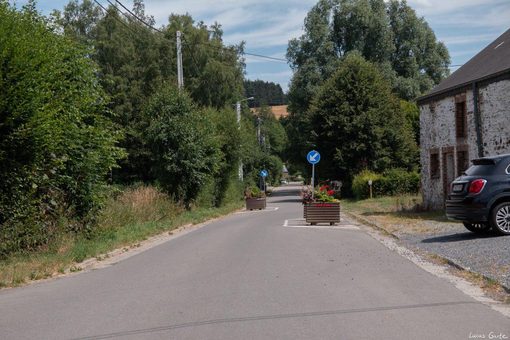 Geschwindigkeitsbegrenzung auf belgisch
