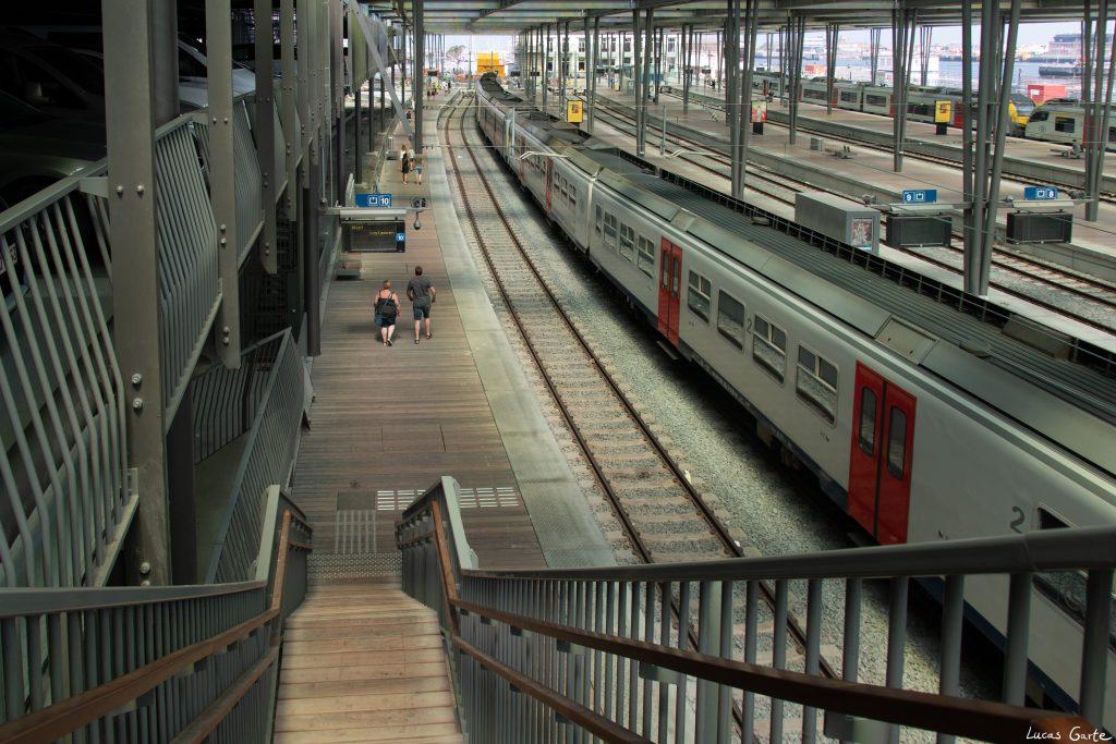 Bahnhof Oostende von innen