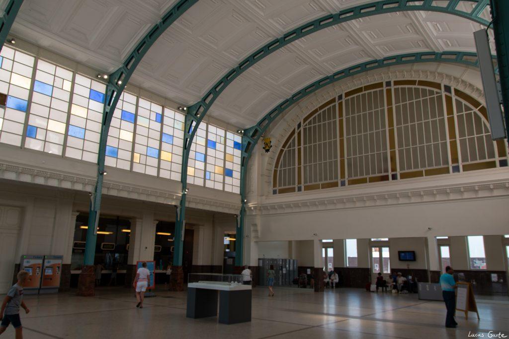 Oostende, Bahnhofshalle