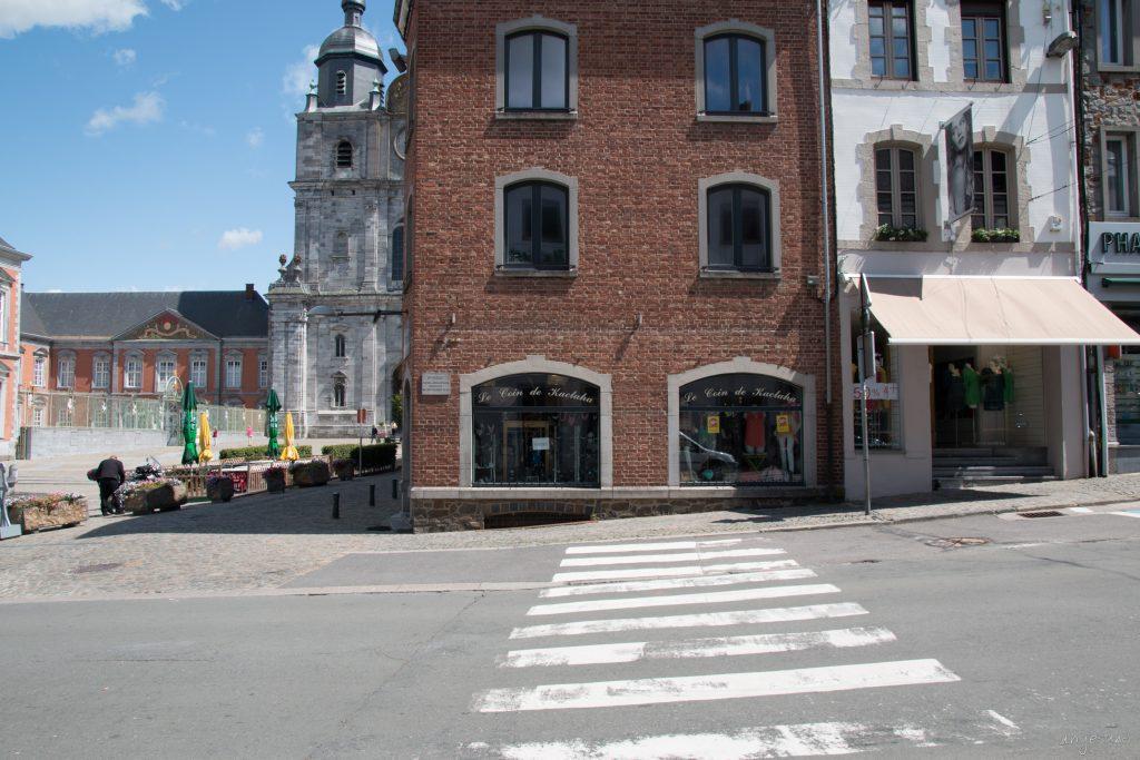 Saint Hubert in schräg