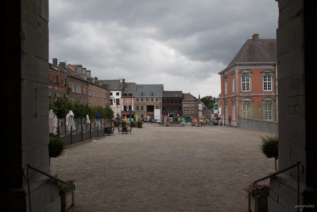Marktplatz ohne Markt